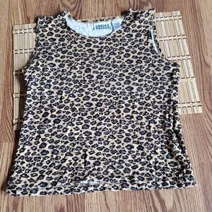 Chicos design Size o leopard print